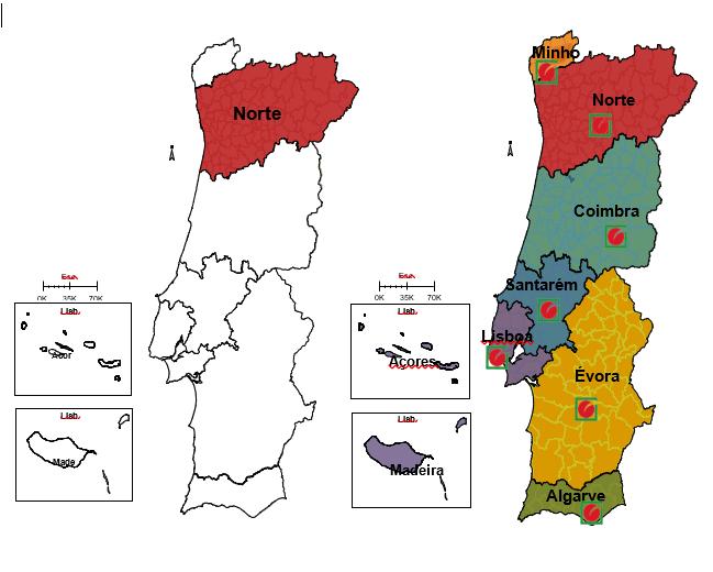 1990 – 1ª Delegação Regional da DECO
