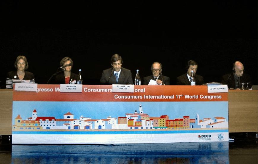 "2003 – Congresso ""Consumers International"""