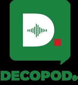 Logotipo do podcast da DECO - DECOPODe.